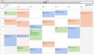 calendar week 300x175 LLega OS X Mavericks, el nuevo sistema operativo de Apple