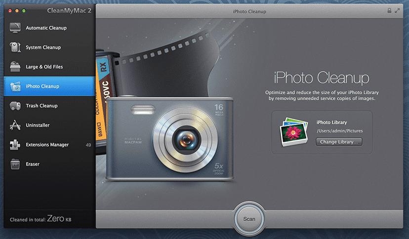 CleanMyMac02 Las mejores aplicaciones para Mac OS X