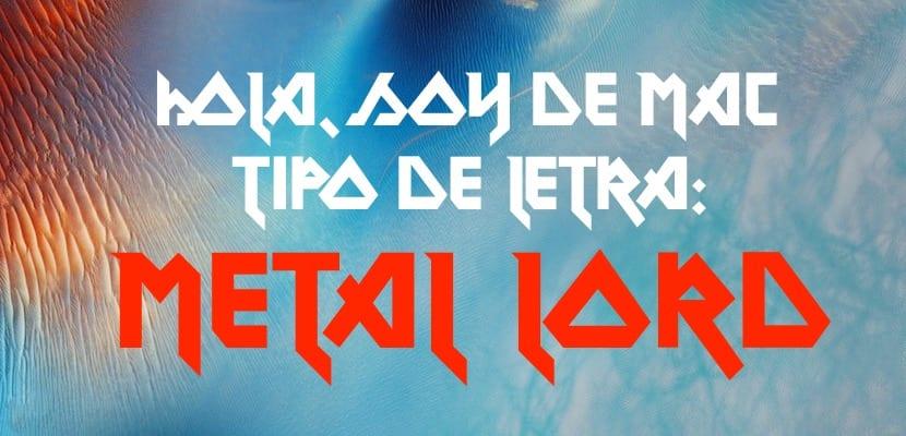 Fuente Metal Lord