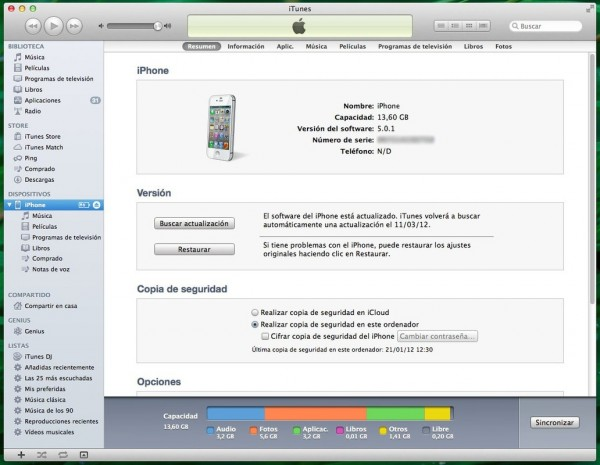 itunes 600x465 Tutorial: Downgrade iOS 7 a iOS 6.1.3   6.1.4