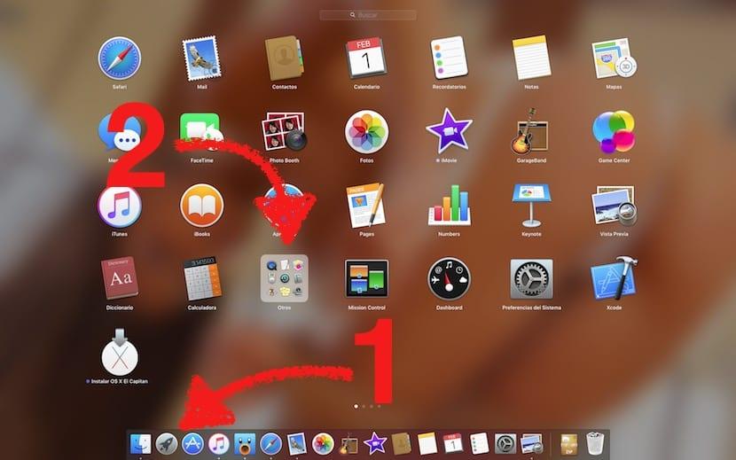 Launchpad de OS X