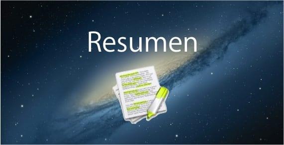 RESUMEN EN OSX