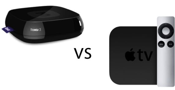 ROKU VS APPLE TV