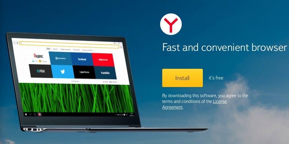 Yandex Browser para Mac