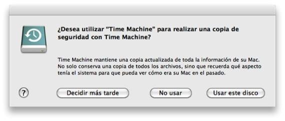 MENSAJE TIME MACHINE