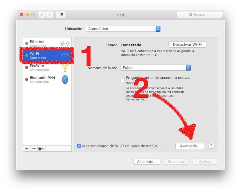 Comprobar Wifi en OS X