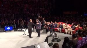 Steve Wozniak y el Sofá de Mentes Brillantes