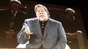 Wozniak en su intervención en el Ser Creativo.