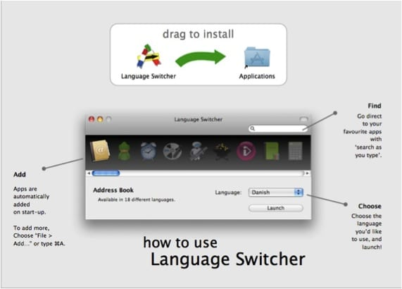 PANTALLA INSTALACIÓN LANGUAGE SWITCHER