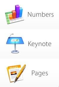 nuevos iconos de iWork