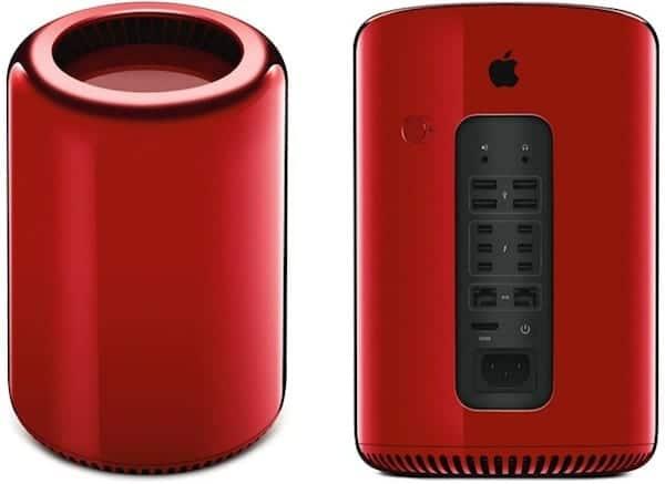 Mac Pro (RED), diseñado para fine benéficos