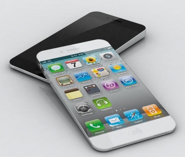 """Concepto de iPhone 6 con pantalla en torno a las 5"""""""