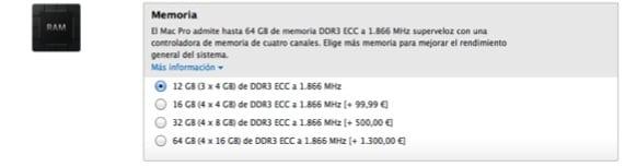 PRECIOS RAM APPLE