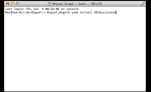 Solución para activar cámara del Mac
