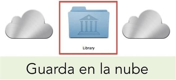 Guarda archivos en tu nube de Apple de forma manual
