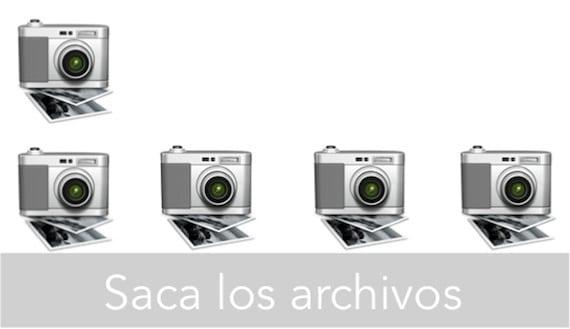 SACA LOS ARCHIVOS