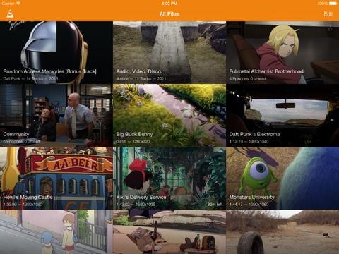 VLC en iPad