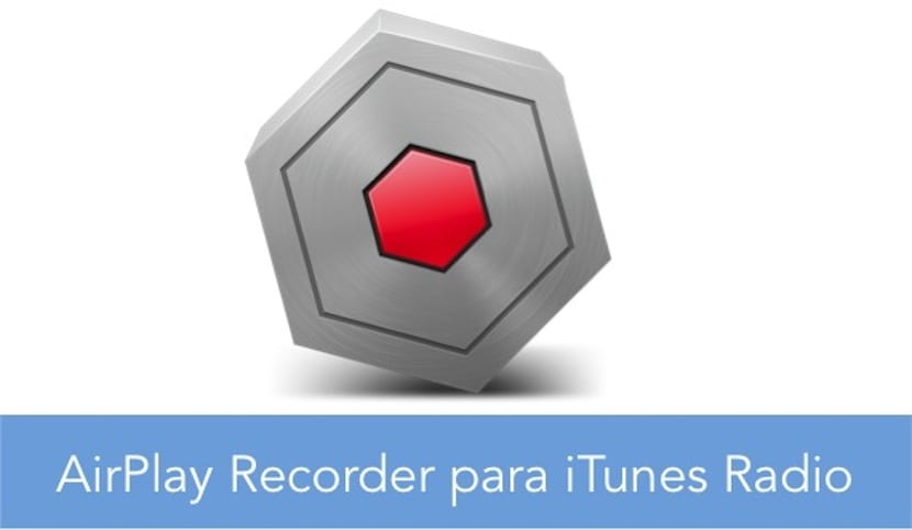 AIRPLAY RECORDER SIMBOLO