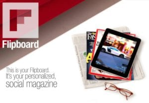 Agrega un blog a Flipboard