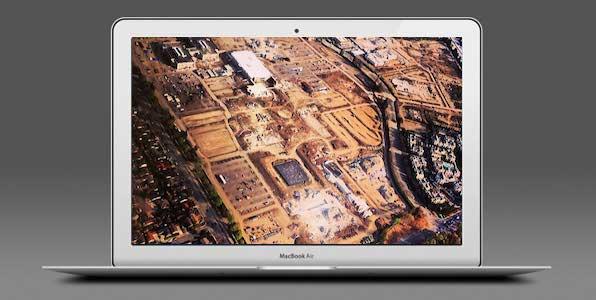 Imagen de la semana: el terreno del Campus de Apple casi a punto.