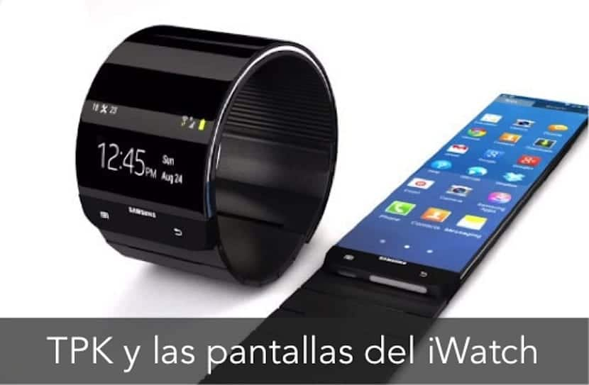 TPK PANTALLA FLEXIBLE