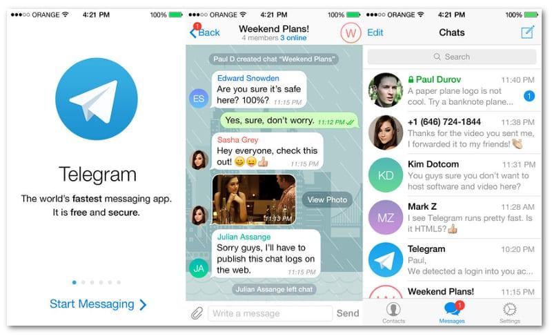 دانلودتلگرام Por qué Telegram se ha convertido en la app más descargada ...
