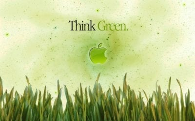 Apple, think green