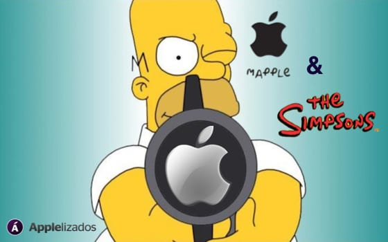 Apple y Los Simpsons