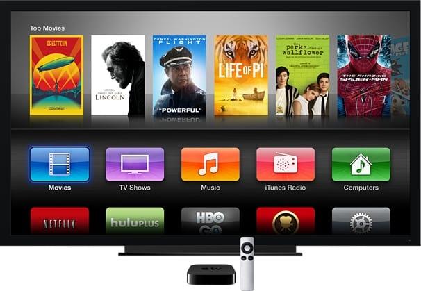 En EEUU, Apple TV goza de gran cantidad de contenidos como Canales de TV o NetFlix entre otros