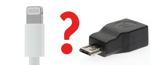 Lightning o micro USB