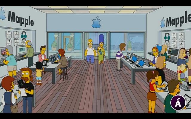 (M)Apple y Los Simpsons