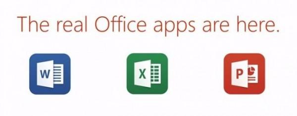 Office para iPad ya está aquí