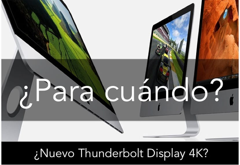 THUNDERBOLT DISPLAY 4K