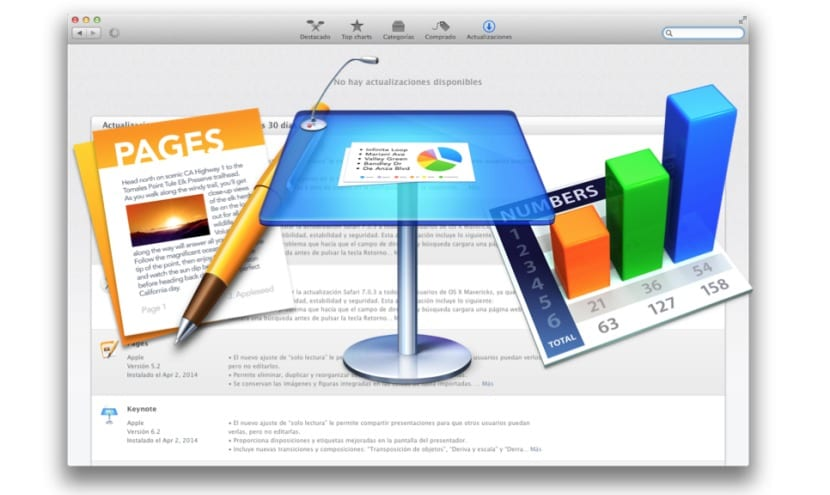 iWork gratis en todos los Mac