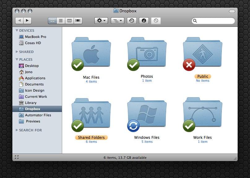 Drpbox Mac