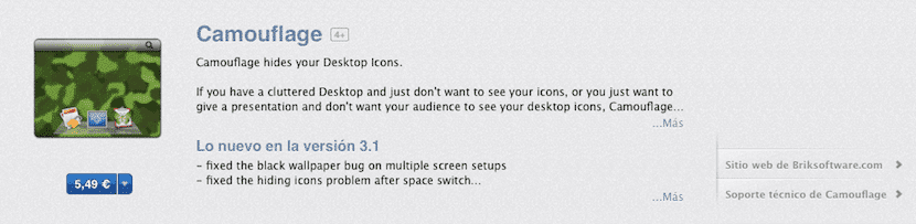 Aplicación en la Mac App Store
