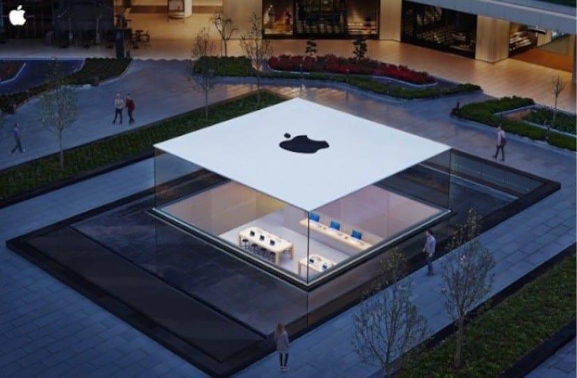 Techo de la Apple Store Turquía