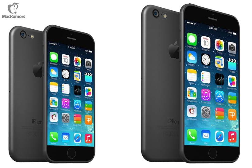iPhone 6 de 4,7 y 5,5 pulgadas según MacRumors