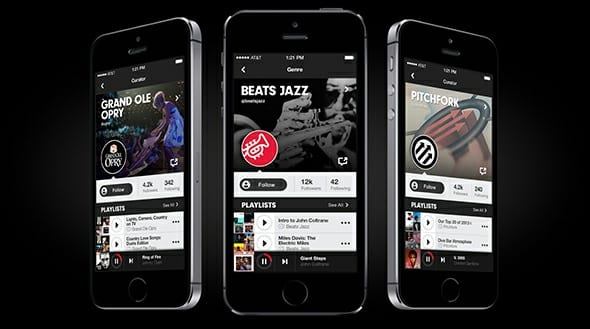 Beats Music en iPhone