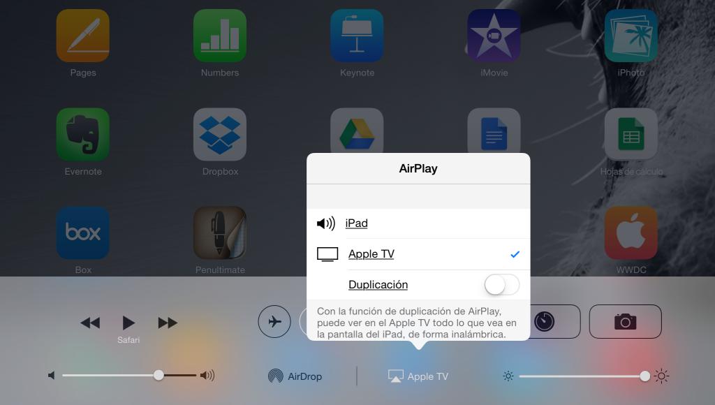 Como ver iPad en TV con AirPlay