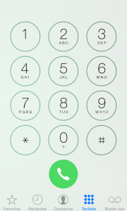 Consulta imei iPhone a través del teclado de teléfono