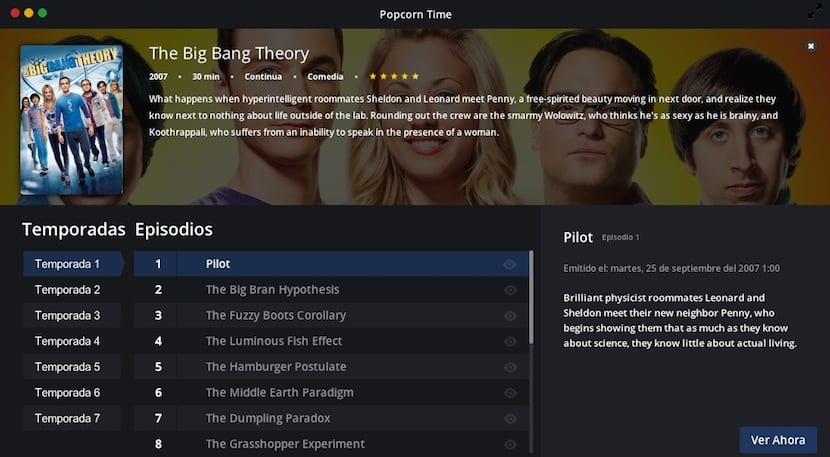 Series-en-Popcorn-Time
