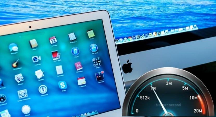 Como saber la velocidad de conexión de tu red dentro de OS X