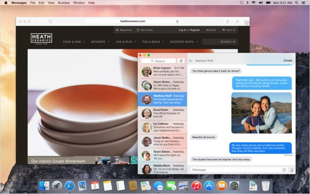 OS X Yosemite 11