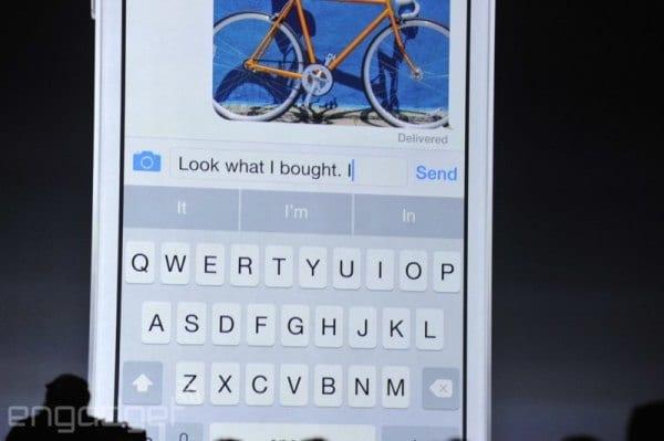 QuickType teclado predictivo en iOS 8