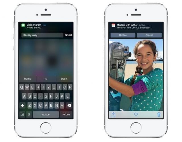 Respuesta rápida en iOS 8