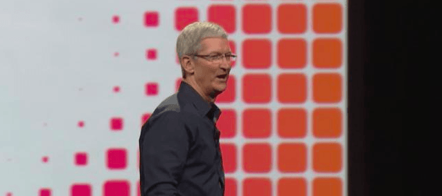 Tim Cook WWDC14