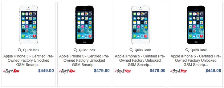 Apple abre tienda en eBay