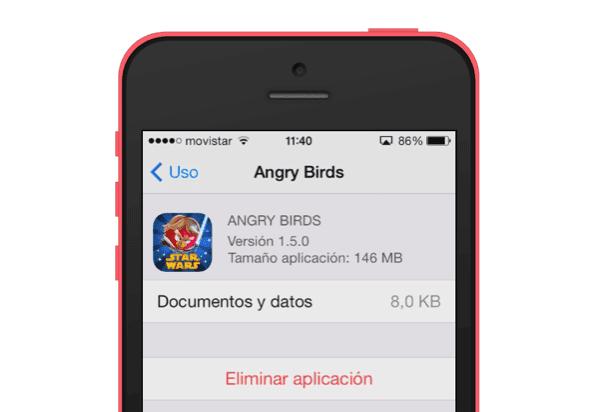 Capturas espacio iPhone 2