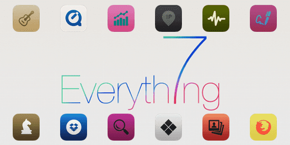 Iconos Everth7ng para OS X